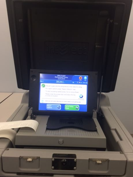 DS200 Optical Scan machine